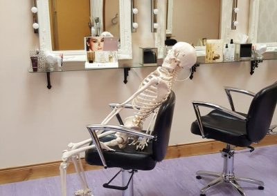 Waiting For My Appointment in a Busy Salon