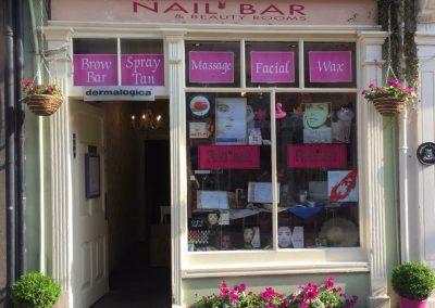 Nail Bar Store front